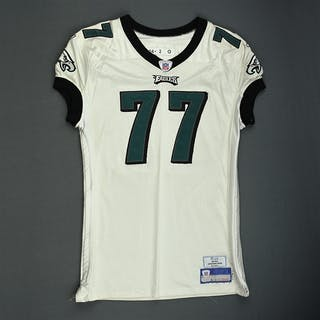 Ramsey, LaJuan White - Rookie Season Philadelphia Eagles 2006 #77 Size: 52-O