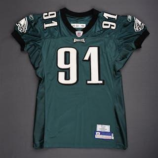 Rayburn, Sam Green Philadelphia Eagles 2006 #91 Size: 04-52 PBS