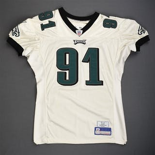 Rayburn, Sam White Philadelphia Eagles 2006 #91 Size: 04-52 PBS