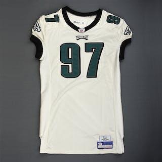 Walker, Darwin White Philadelphia Eagles 2006 #97 Size: 50-O
