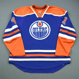 Chorney, Taylor Blue Retro Set 1 Edmonton Oilers 2011-12 #41 Size: 58