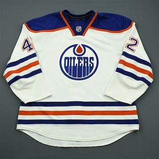 O'Marra, Ryan White Retro Set 1 Edmonton Oilers 2011-12 #42 Size: 56