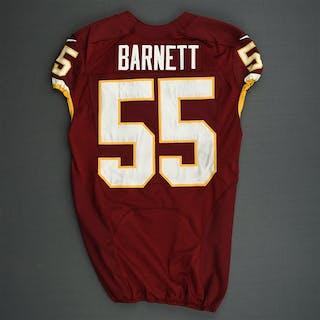 Barnett, Nick Burgundy Washington Redskins 2013 #55 Size: 44 L-BK
