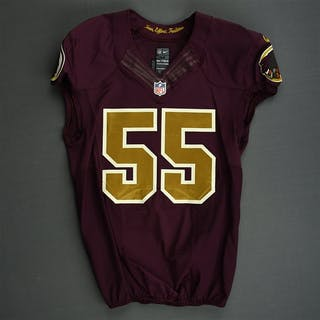 Barnett, Nick Burgundy and Gold Throwback - worn November 3, 2013