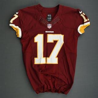 Bellamy, Josh Burgundy Washington Redskins 2013 #17 Size: 42 SKILL