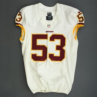 Compton, Will White Washington Redskins 2013 #53 Size: 46 L-BK