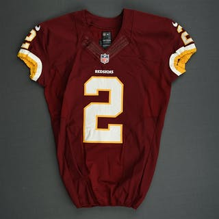 Forbath, Kai Burgundy Washington Redskins 2013 #2 Size: 42 SKILL