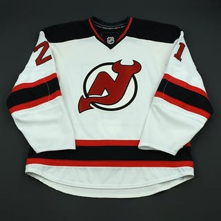 Tallackson, Barry White Set 2 - Game-Issued (GI) New Jersey Devils