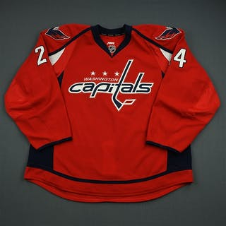 Volpatti, Aaron Red Set 2 Washington Capitals 2012-13 #24 Size: 58