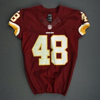 Gumbs, Jose Burgundy Washington Redskins 2013 #48 Size: 42 SKILL