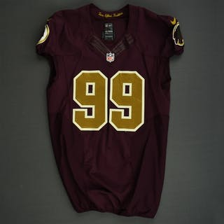 Jenkins, Jarvis Burgundy and Gold Throwback - worn November 3, 2013