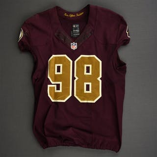 Orakpo, Brian Burgundy and Gold Throwback - worn November 3, 2013