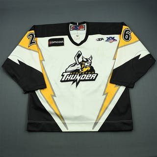 Geisler, Beau White Set 1 Stockton Thunder 2007-08 #26 Size: 56