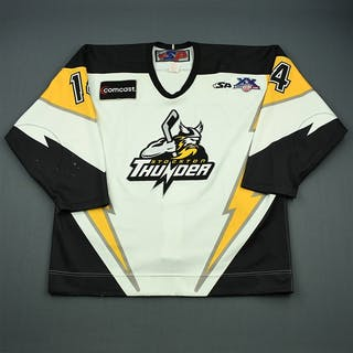 Lachance, Louis-Philippe White Set 1 Stockton Thunder 2007-08 #14 Size: 54