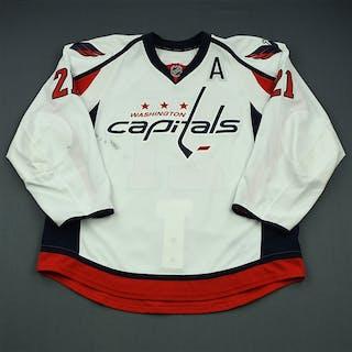 Laich, Brooks White Set 2 w/A Washington Capitals 2013-14 #21 Size: 56
