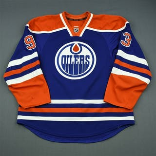 Nugent-Hopkins, Ryan Blue Retro Set 1 Edmonton Oilers 2013-14 #93 Size: 56
