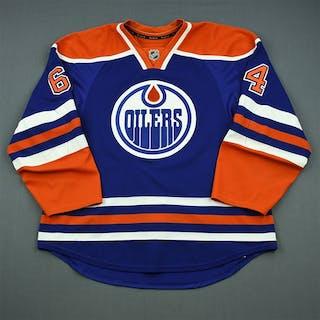 Yakupov, Nail Blue Retro Set 1 Edmonton Oilers 2013-14 #64 Size: 56