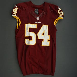 Tapp, Darryl Burgundy Washington Redskins 2013 #54 Size: 46 L-BK