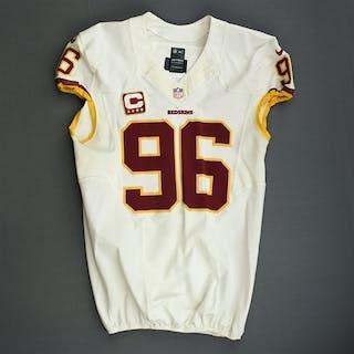 Cofield, Barry White w/Captain's C Washington Redskins 2013 #96 Size:48 LINE