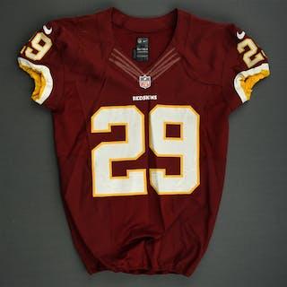 Helu Jr., Roy Burgundy Washington Redskins 2013 #29 Size: 44 SKILL