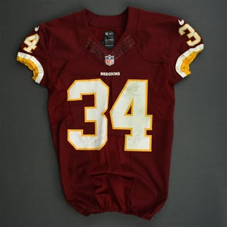 Robinson, Trenton Burgundy Washington Redskins 2013 #34 Size: 40 SKILL
