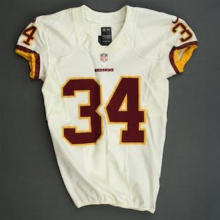 Robinson, Trenton White Washington Redskins 2013 #34 Size: 40 SKILL