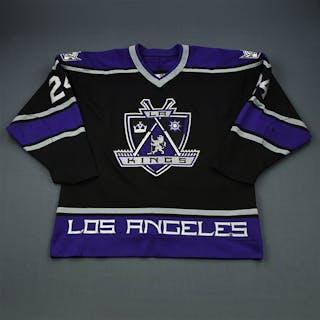 Lafayette, Nathan * Black Set 1 Los Angeles Kings 1998-99 #24 Size: 54
