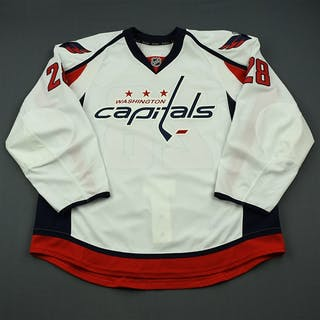Rissling, Jaynen White Set 1 - Game-Issued (GI) Washington Capitals