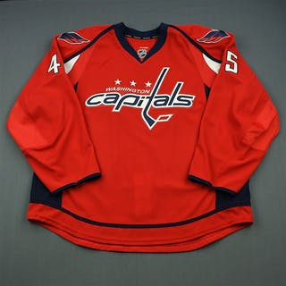 Schilling, Cameron Red Set 1 - Game-Issued (GI) Washington Capitals