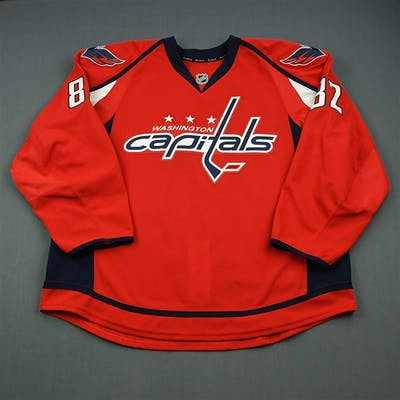 Syner, T.J. Red Set 1 - Game-Issued (GI) Washington Capitals 2013-14