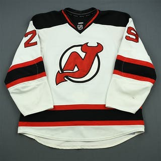 Fayne, Mark White Set 1 New Jersey Devils 2011-12 #29 Size: 56