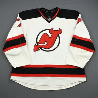 Tallinder, Henrik White Set 1 w/A Removed New Jersey Devils 2011-12 #7 Size: 58