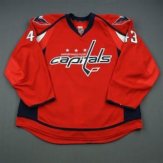 Wilson, Tom Red Set 3 Washington Capitals 2013-14 #43 Size: 58