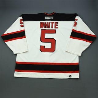 White, Colin * White Set 1 New Jersey Devils 2001-02 #5 Size: 58