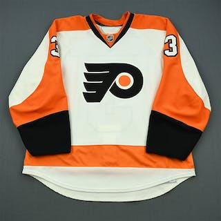 Bartulis, Oskars White Set 2 Philadelphia Flyers 2010-11 #3 Size: 56