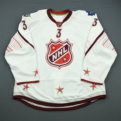 Phaneuf, Dion * White - Game-Issued (GI) before Fantasy Draft All