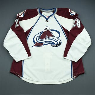 Koci, David White Set 3 - Game-Issued (GI) Colorado Avalanche 2009-10