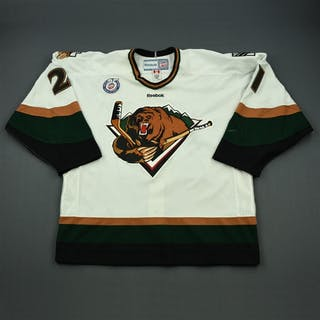 Maxwell, Tommy White Set 1 Utah Grizzlies 2012-13 #21 Size: 56
