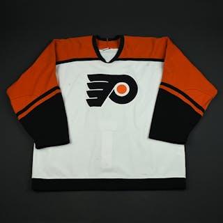 Weinrich, Eric White 2nd Regular Season Philadelphia Flyers 2003-04 #2 Size: 58
