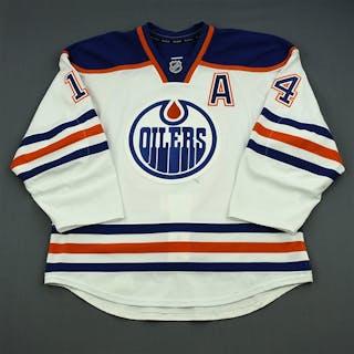 Eberle, Jordan White Retro Set 3 w/A Edmonton Oilers 2013-14 #14 Size: 54