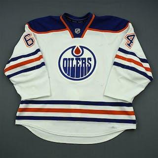 Yakupov, Nail White Retro Set 2 Edmonton Oilers 2013-14 #64 Size: 56