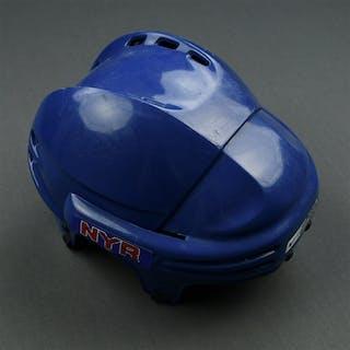 Strudwick, Jason Blue Nike/Bauer Helmet New York Rangers 2007-08 #34