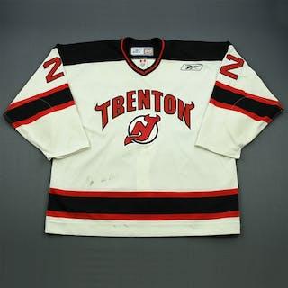 Kucharski, Kyle White Set 1 Trenton Devils 2009-10 #22 Size: 58