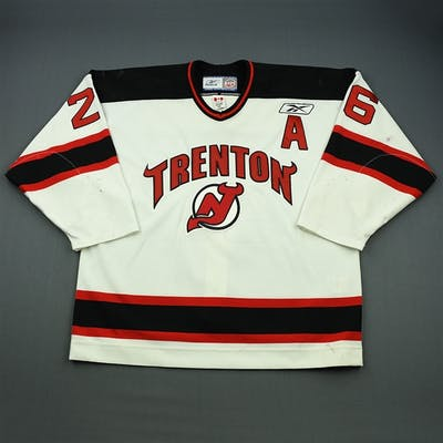 Leaderer, David White Set 1 w/A Trenton Devils 2009-10 #26 Size: 56