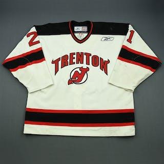 Nagy, Kory White Set 1 Trenton Devils 2009-10 #21 Size: 56