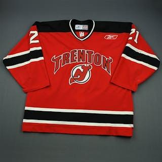 Nagy, Kory Red Set 1 Trenton Devils 2009-10 #21 Size: 56