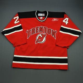 Stoesz, Myles Red Set 1 Trenton Devils 2009-10 #24 Size: 56