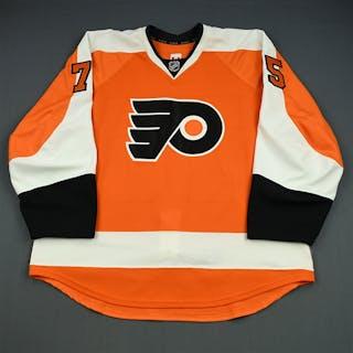Gill, Hal Orange Set 2 - Game-Issued (GI) Philadelphia Flyers 2013-14