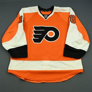 Hall, Adam Orange Set 2 Philadelphia Flyers 2013-14 #18 Size: 56
