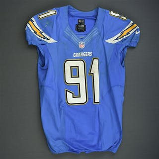 Reyes, Kendall Powder Blue - worn October 14, 2013 vs Indianapolis